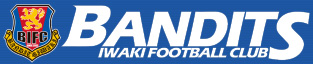 いわきフットボールクラブBANDITS(バンデッツ)応援ロゴ